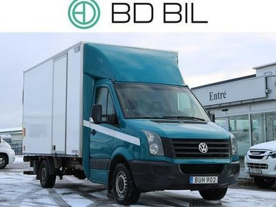 begagnad VW Crafter 2.0 TDI BG-LYFT D-VÄRM EU6 2016, Transportbil Pris 159 900 kr