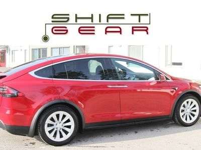 begagnad Tesla Model X 75D AWD 5-sits Leasebar 200 mil