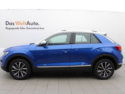 begagnad VW T-Roc TDI 150 4M/P-v'rmare/Plus/Style/Drag