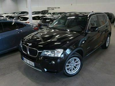 begagnad BMW X3 20d xDrive xLine Aut Dragkrok Tonade Rutor Minne Stol