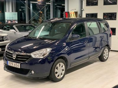 begagnad Dacia Lodgy 1.2 TCe 7-sits/Drag/Motor-värmare 115hk