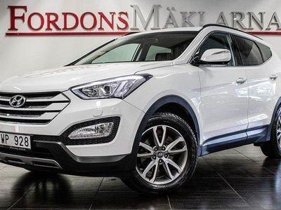 begagnad Hyundai Santa Fe 2.2 CRDi 4WD AUT DRAG 200HK