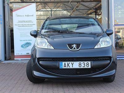begagnad Peugeot 107 1,0 5D, 1 ägare, Ny servad, 6 mån garanti
