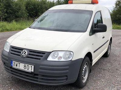 used VW Caddy 1.9 TDI Skåp