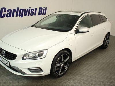 begagnad Volvo V60 AWD D5 PLUG IN HYBRID 231HK 4x4 Classic R-Design E-Pro Navi Aut Skattefri