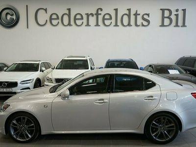 begagnad Lexus IS250 2.5 V6 AUTO F SPORT FULLSERVAD 9072 MIL 208hk