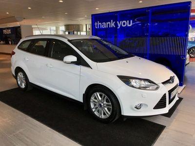 begagnad Ford Focus Kombi 1.0T (100hp) EcoBoost Titanium