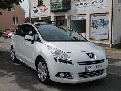 begagnad Peugeot 5008 1.6 HDi FAP EGS 7-sits 109hk