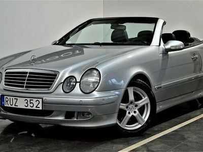 begagnad Mercedes 230 CLK BenzKompressor Cab Automat Elegance 2000, Cab Pris 68 900 kr
