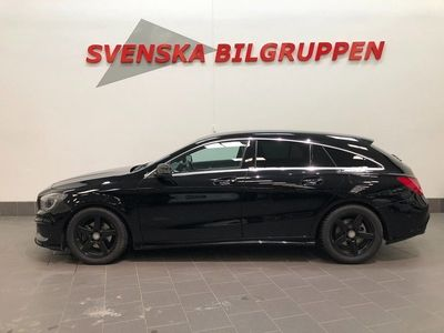 begagnad Mercedes CLA200 Shooting Brake CDI 7G-DCT AMG Sport Eu6 Alcantara