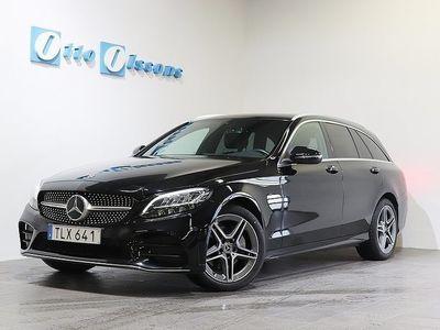 begagnad Mercedes C200 D AMG Kombi Aut, Nav Drag