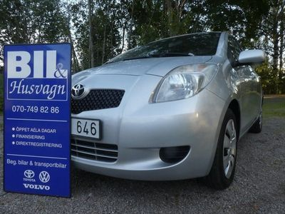 begagnad Toyota Yaris 5D 1,3 NYSERVAD/FINANS/INBYTE
