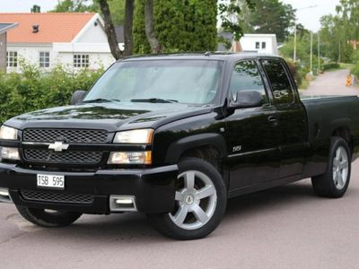 used Chevrolet Silverado SS. Mycket påkostad -03