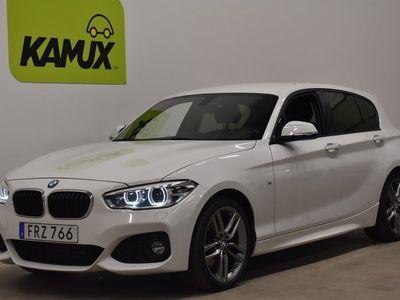 begagnad BMW 118 d xDrive 5-dörrars 5-door M-sport Navi Drag 150hk