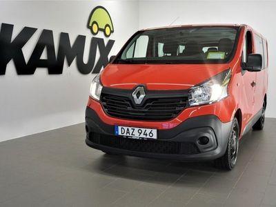 begagnad Renault Trafic Minibuss 9-Sits D-Värmare