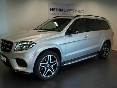 "begagnad Mercedes GLS350 - Benzd 4MATIC / / AMG Paket / / 21"" Alu / / Vinterpaket / / 7 - sits 258hk"