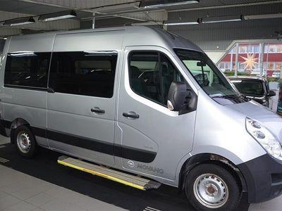 begagnad Opel Movano Minibuss 2.3 CDTI 8-Sits L2 H2 2014, Transportbil 149 900 kr