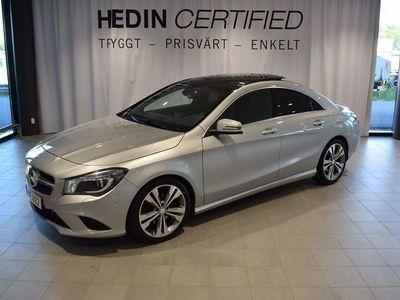 begagnad Mercedes CLA220 CDI // Parkeringsvärmare // Panoramataklucka