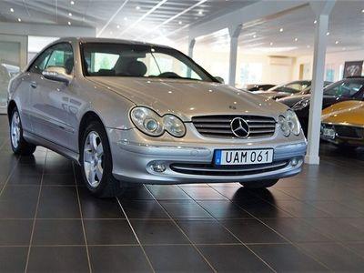 begagnad Mercedes CLK320 Coupé Nybesiktad Auto Skinn Drag