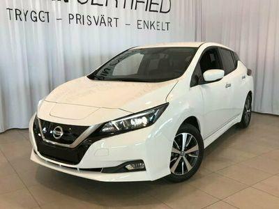 begagnad Nissan Leaf ACENTA 40 KWH EL 2021, Halvkombi Pris 379 900 kr