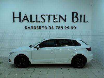 begagnad Audi A3 Sportback 2.0 TDI Sport quattro | Drag | Svensksåld