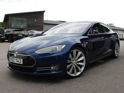 begagnad Tesla Model S P85D Performance 772hk Leasbar/