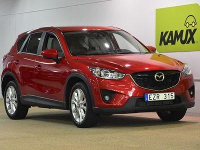 begagnad Mazda CX-5 2.2 Aut Optimum Navi Skinn (175hk)