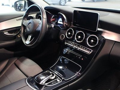 begagnad Mercedes C220 BlueTEC Automat 7G-tronic -15