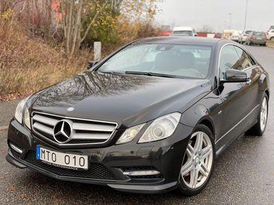begagnad Mercedes E350 CDI Coupé 7G-Tronic Plus AMG Sport 265hk