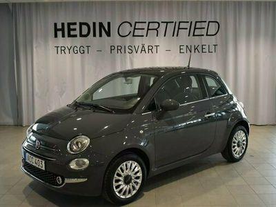 begagnad Fiat 500 LOUNGE 1.2 2018, Halvkombi Pris 104 900 kr