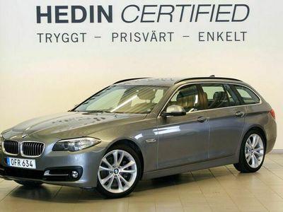 begagnad BMW 520 d xDrive 190hk Aut Skinn Drag NAVI Vhjul ACC