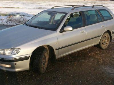 begagnad Peugeot 406 2,2 ev byte. -04