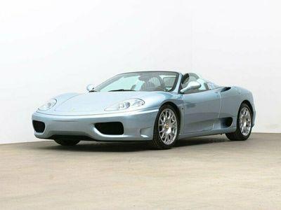 begagnad Ferrari 360 Spider 3.6l V8 Sv-såld / 2570mil