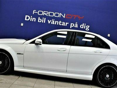 begagnad Mercedes C63 AMG AMG Taklucka Nyskick Full servad 457hk
