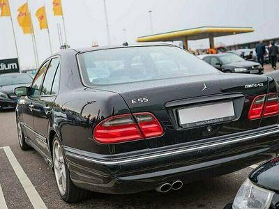 begagnad Mercedes E55 AMG w210 sedan/kombi köpes även rep/objekt
