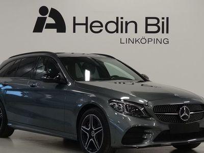 begagnad Mercedes C220 D KOMBI 4MATIC AMG-LINE NIGHTPACKAGE MULTIBEAM BRÄNSLEVÄRMARE