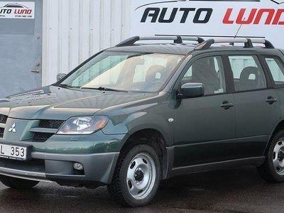 begagnad Mitsubishi Outlander 2.4 4WD Auto Drag 2 Ägar
