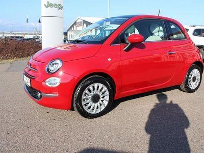 begagnad Fiat 500 Lounge 1,2 Nya Modellen Halvkombi