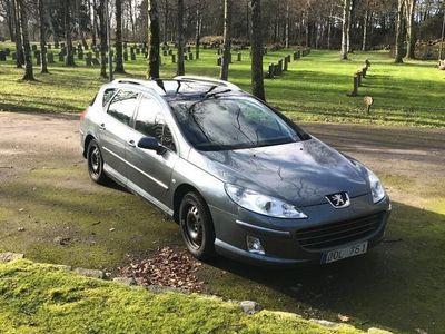 begagnad Peugeot 407 Panoramatak