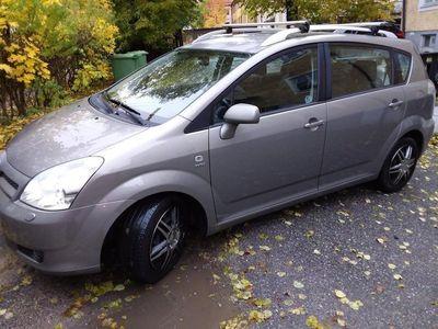 begagnad Toyota Corolla Verso 7 sits 2 ägare
