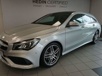 begagnad Mercedes CLA200 Shooting Brake 200 Shooting Brake // AMG Line // Panorama