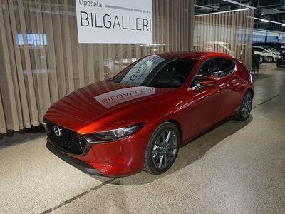 begagnad Mazda 3 35d 2,0 Aut Sky M.Hybrid Skyactiv-x OMG Lev 10 Års 2020, Halvkombi 283 900 kr