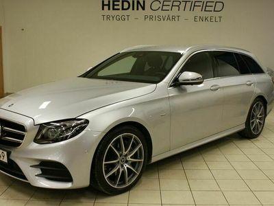 begagnad Mercedes 220 - Benz E - klassd AMG, Premiumpaket, Drag, Minnespaket,