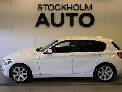 begagnad BMW 116 d 5-door Aut / Sport line /