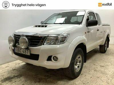 begagnad Toyota HiLux Extra Cab 2.5 D-4D 4WD (144hk)