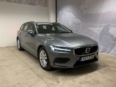 begagnad Volvo V60 D4 Momentum Edition, ader, On Call, Parkeringssensorer Bak Kamera, Navigation, Regnsensorer, Rattvärme 2019, Kombi Pris 289 500 kr