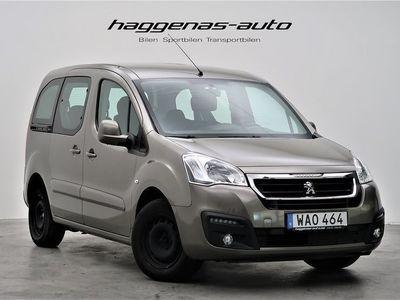 begagnad Peugeot Partner Tepee 1.6 BlueHDI / 99hk / Värmare