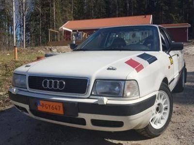 begagnad Audi 80 Grupp e rallybil -92