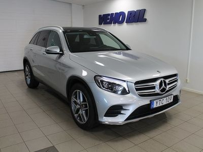 begagnad Mercedes GLC220 d 4-Matic AMG Panorama Drag