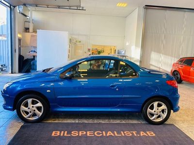begagnad Peugeot 206 CC 1.6 Cab 109hk Lågmilare 0%Ränta NY-BES